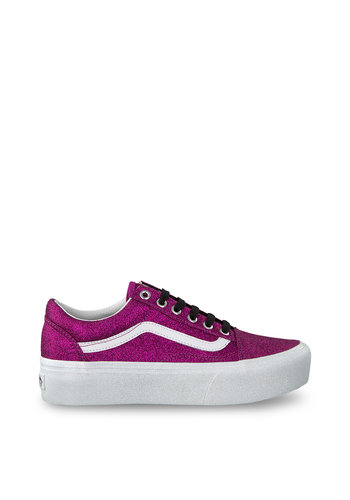 Vans baskets - paillettes roses - OLD-SKOOL PLATFORM