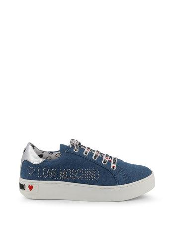 Love Moschino Sneakers - Kornblumenblau - JA15243G17IH