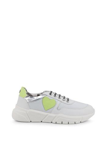 Love Moschino Sneakers - wit palegroen - JA15203G17IN