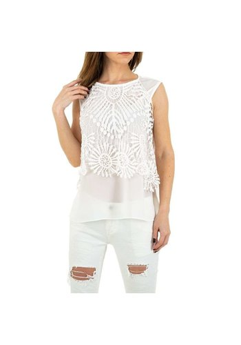 MC LORENE Dames blouse MC Lorene - white