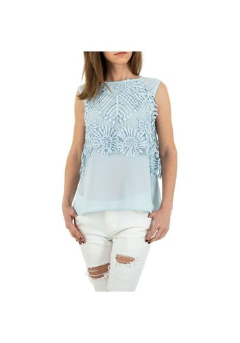 MC LORENE Dames blouse MC Lorene - blue