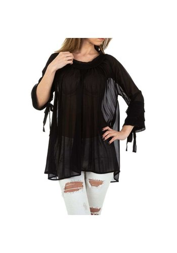 MC LORENE Dames blouse  - black
