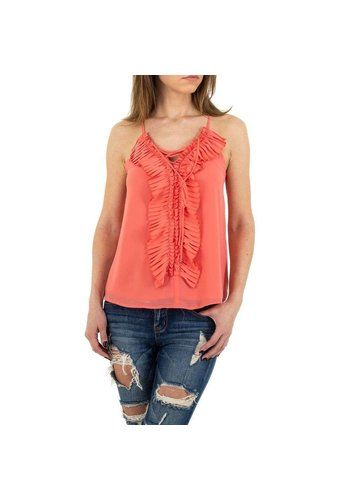 MC LORENE Dames blouse MC Lorene - coral