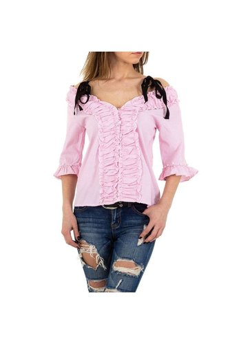 MC LORENE Dames blouse MC Lorene - rose