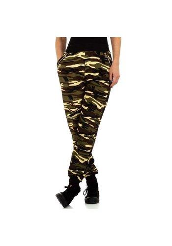 HOLALA pantalon femme camouflage KL-BF67203