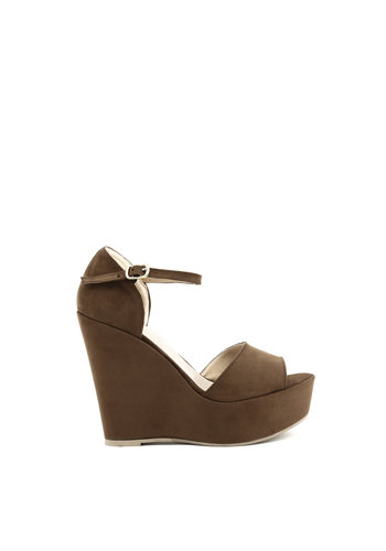 Made in Italia Wedges - dunkelbraun - BENIAMINA