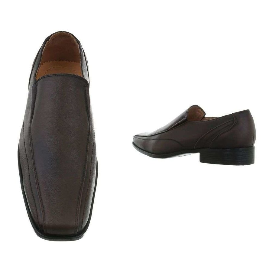 chaussures homme marron J56-2