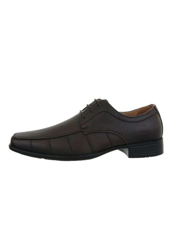 Neckermann heren schoenen bruin J55-2