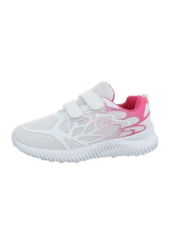 Neckermann chaussures pour enfants blanc rose 1956