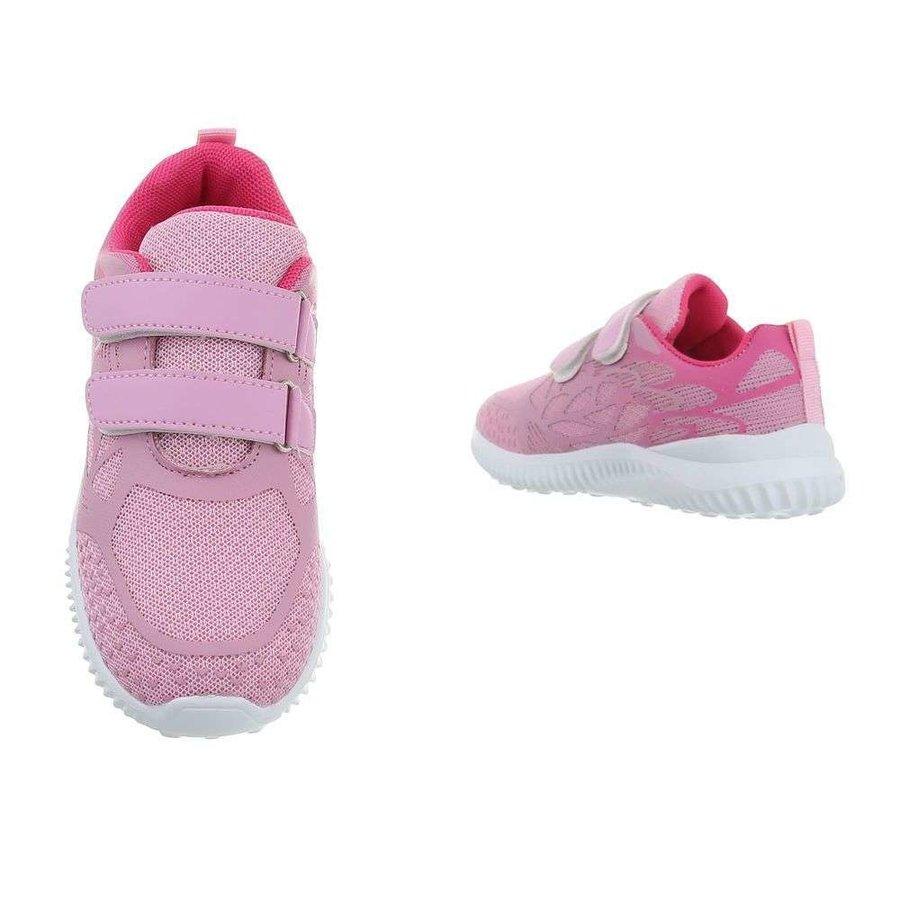 chaussures enfants rose 1956