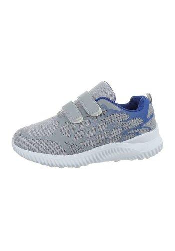 Neckermann chaussures enfants gris bleu 1956