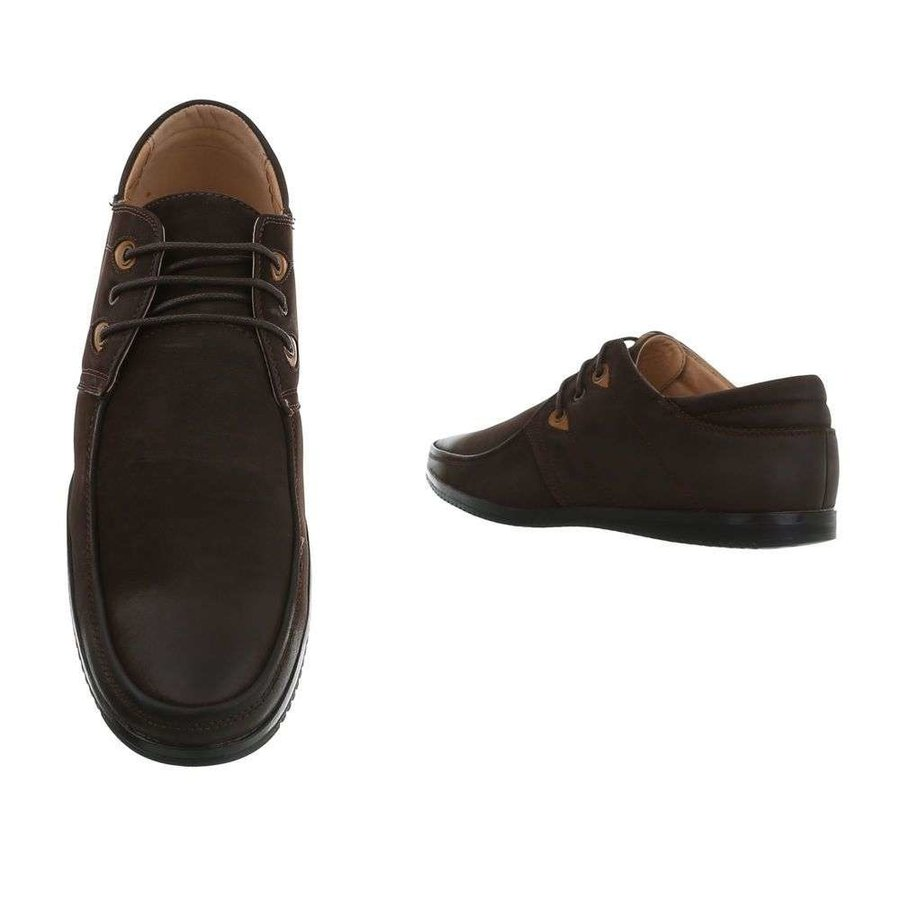 chaussures homme marron 0122-2