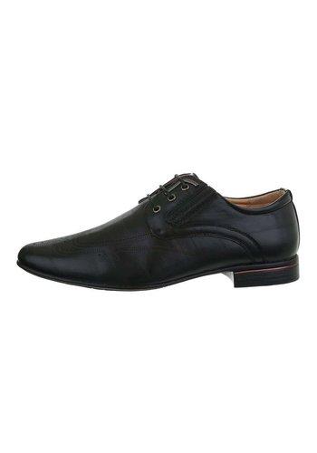 Neckermann heren schoenen zwart 0105-1