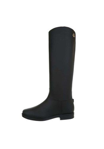 Neckermann dames laarzen zwart D59