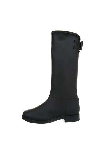 Neckermann dames laarzen zwart D58-1