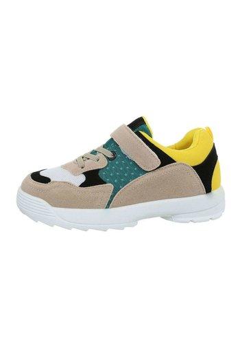 Neckermann chaussures pour enfants jaune 205-21