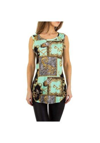 EMMA&ASHLEY dames blouse groen KL-WJ-8212