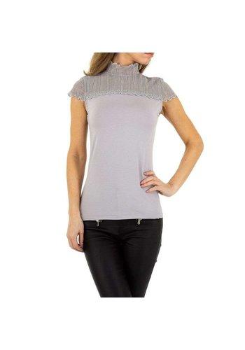 EMMA&ASHLEY dames blouse grijs KL-WJ-8003