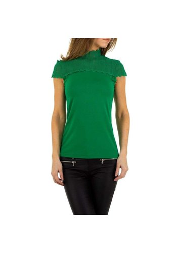 EMMA&ASHLEY Damenbluse grün KL-WJ-8003
