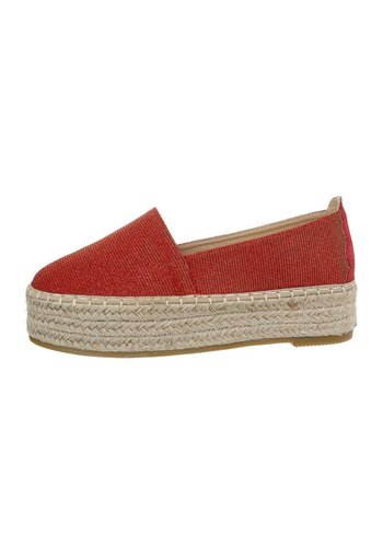 Neckermann Damen Espadrille rot 7480