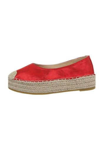 Neckermann Damen Espadrilles rot 3904