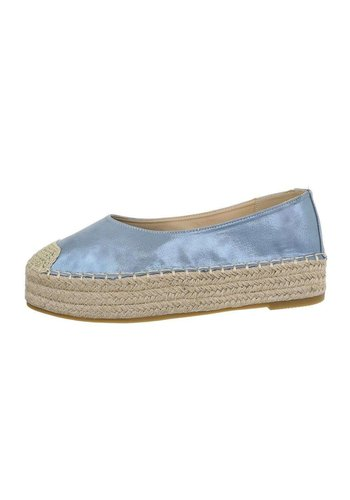 Neckermann damen espadrille blau 3904