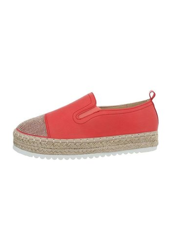 Neckermann damen espadrilles rot 2807