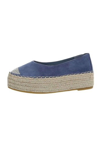 Neckermann Damen Espadrilles blau 2769-1