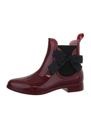 Neckermann bottes pour dames vin rouge LS5070