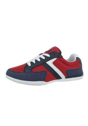 Neckermann chaussures homme marine blanc rouge 16KMA26-2