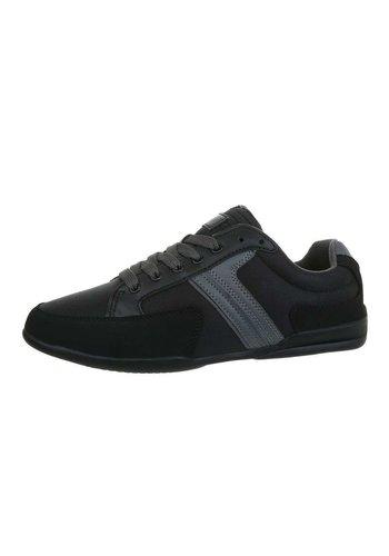 Neckermann Chaussures décontractées pour hommes gris foncé 16KMA26-1