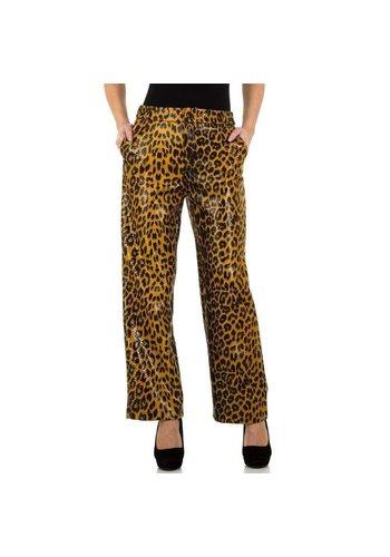 JCL dames broek leopard KL-83362