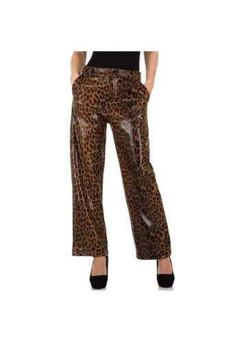 JCL pantalon femme café KL-83362A