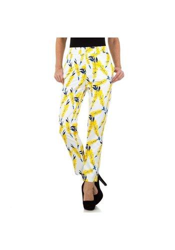 JCL pantalon pour femme multicolore KL-81101A