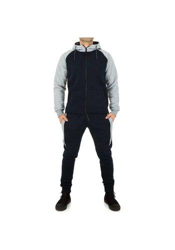 Neckermann Heren Jogging pak van Fashion Sport - DK.blauw