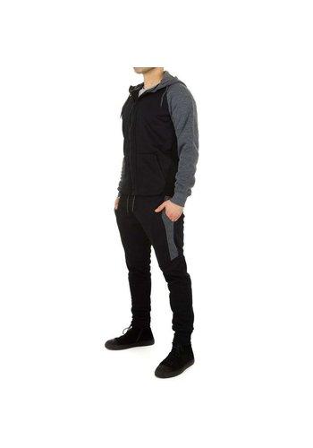 Neckermann Heren Jogging pak van Fashion Sport - zwart