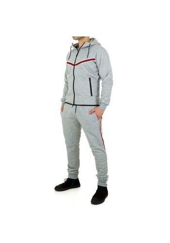 Neckermann Heren Jogging pak van Fashion Sport - Grijs