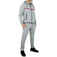 Combinaison de jogging pour hommes de Fashion Sport - Gris