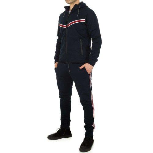 Neckermann Combinaison de jogging pour hommes de Fashion Sport - DK.blue