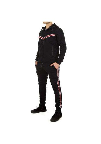 Neckermann Jogginganzug für Herren von Fashion Sport - Black