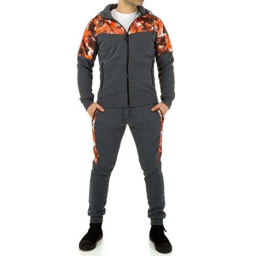 Neckermann Combinaison de jogging pour hommes de Fashion Sport - gris
