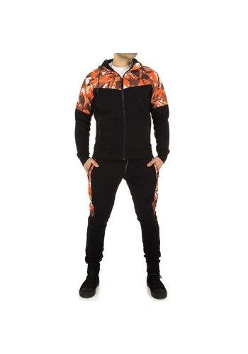 Neckermann Herren Jogginganzug von Fashion Sport - schwarz