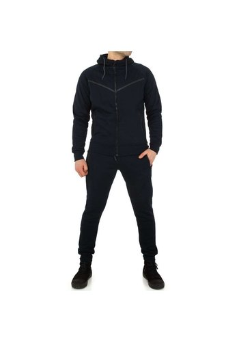 Neckermann Combinaison de jogging pour hommes de Fashion Sport - DK.blue