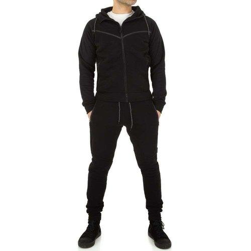 Neckermann Combinaison de jogging pour hommes de Fashion Sport - Noir