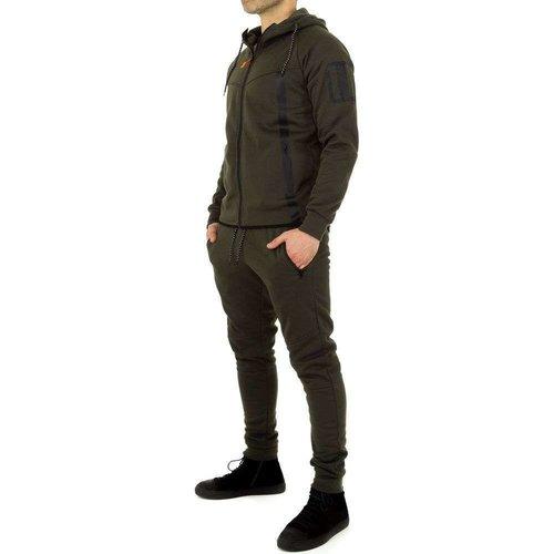 Neckermann Combinaison de jogging pour hommes de Fashion Sport - Green