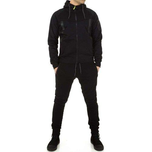 Neckermann Costume pour hommes par Fashion Sport - noir