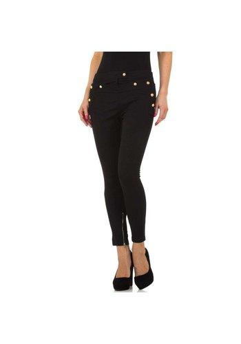 JCL Pantalon pour femmes de JCL - noir
