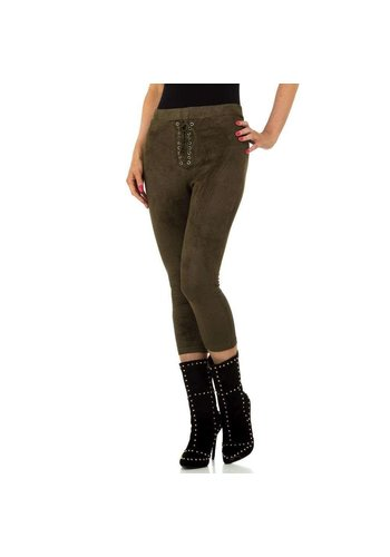 JCL Pantalon femme par JCL - kaki