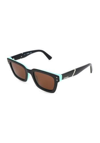 Diesel Sonnenbrille - schwarz / torquise - DL0231