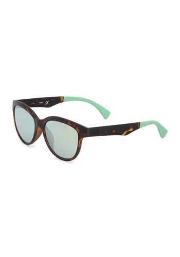 Guess lunettes de soleil - marron / torquise - GU7433